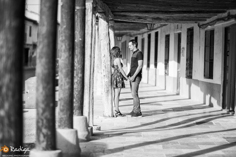 Pre boda en Ampudia