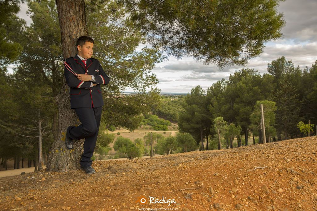 Reportaje de comunión en Valladolid
