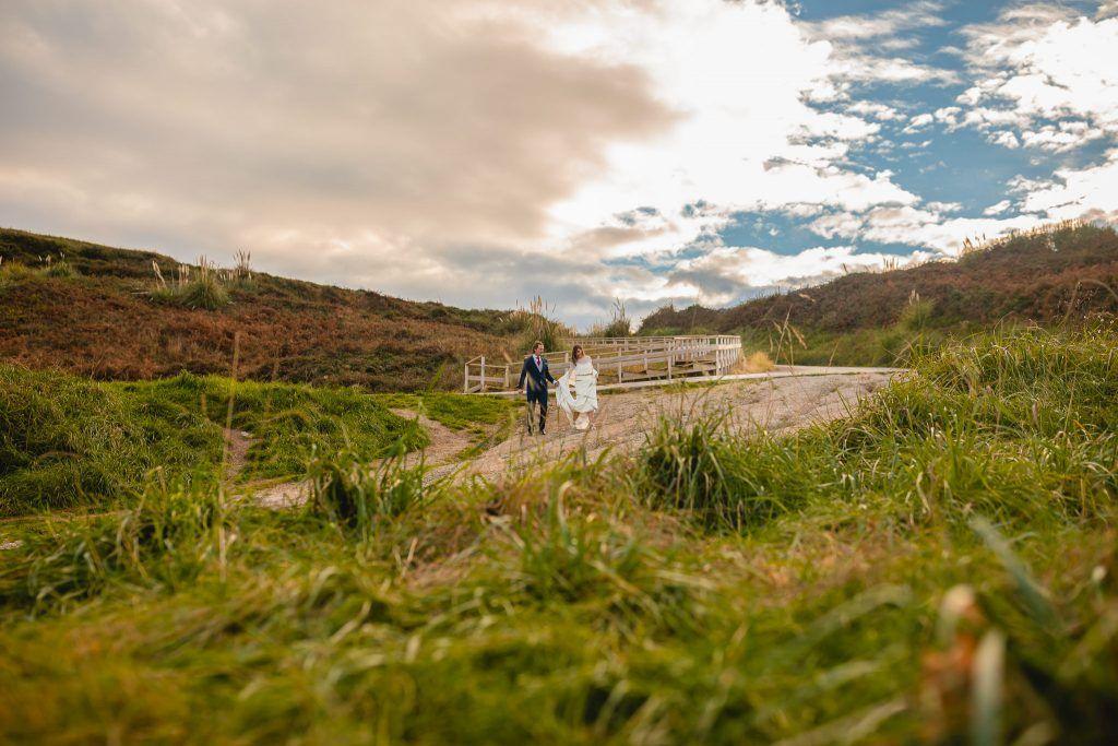 Postboda en una playa de Santander