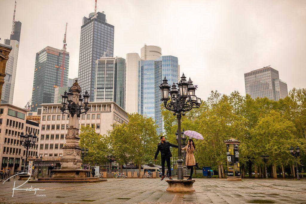 Pre boda en Frankfurt