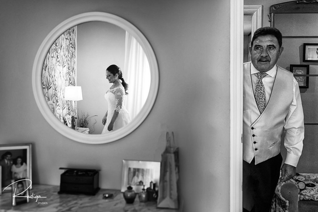 El día del padre a través de 25 fotografías de boda